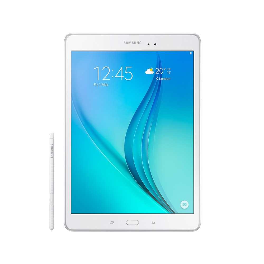 Samsung Tab Book Cover White : Galaxy tab quot wifi white book cover